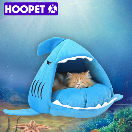 Pawsome Shark Bed for Cats & Dogs - pawsomecouture