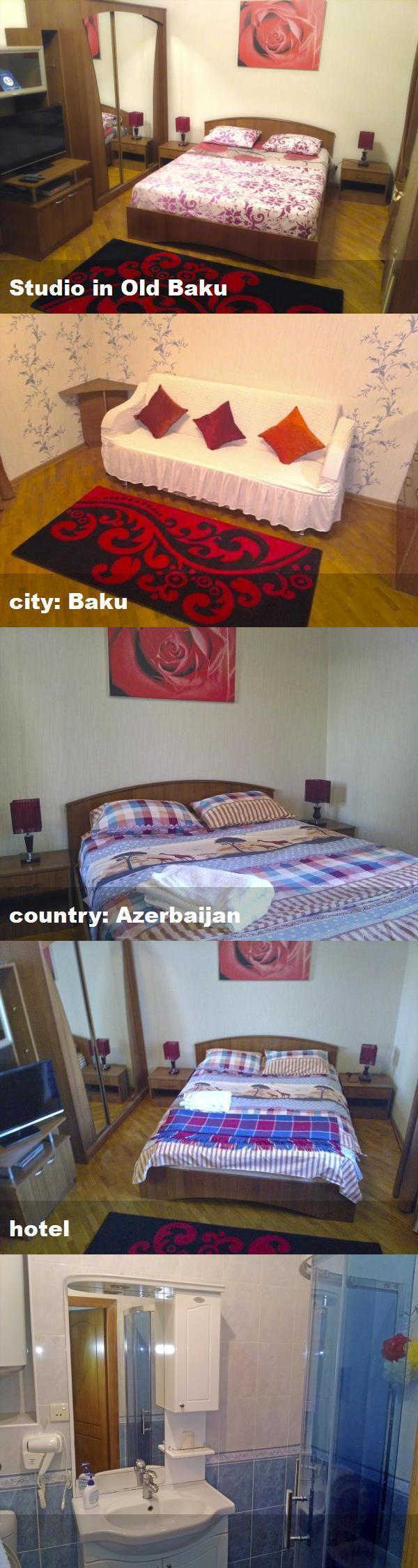 Studio In Old Baku City Baku Country Azerbaijan Hotel Azerbaijan Hotel Baku City