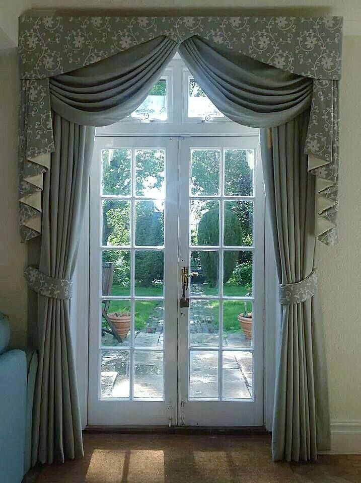Beautiful Pelmet Swags And Tails By Hampshire Curtain Makers