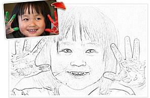 17++ How to convert a photo to a coloring page download HD