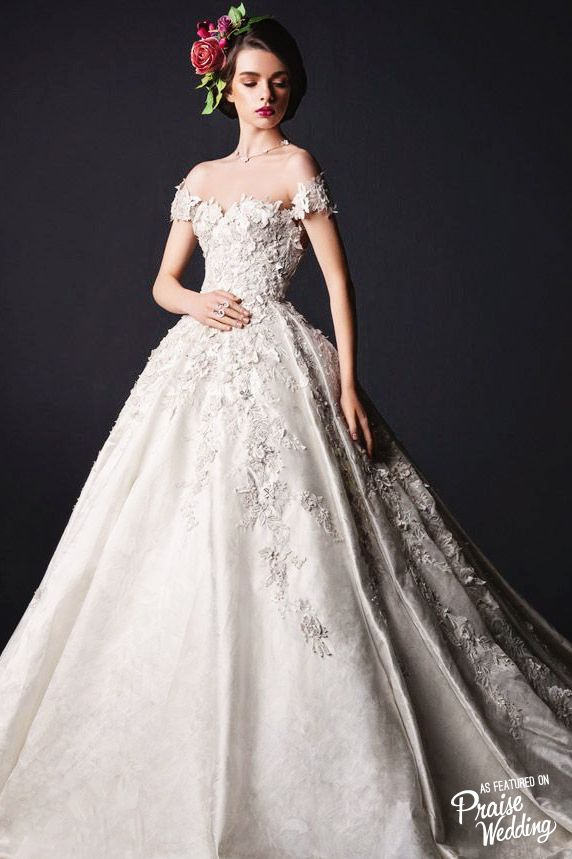 This Rami Al Ali bridal gown is a fascinating display of exquisite ...