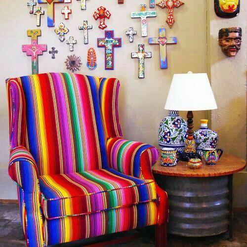 Pin de gloria navarrete en decoraci n mexicana pinterest for Casa mexicana muebles