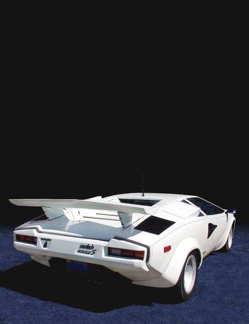 1985 White Lamborghini Countach Things I Want Cars White