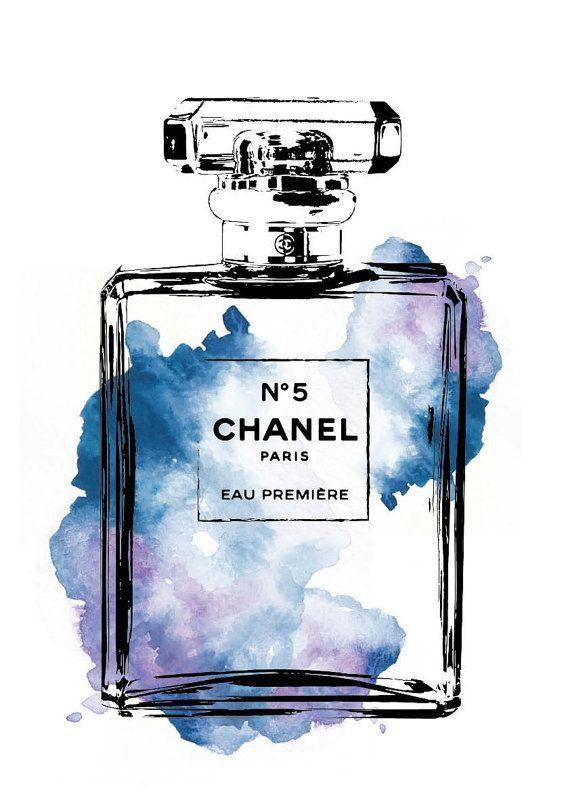 Elisefranck Art Chanel Illustration De Mode Et Affiches D Art