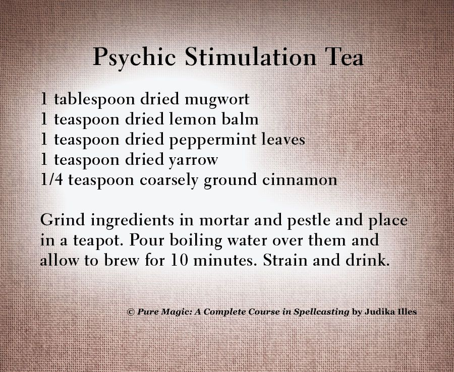 Ramp up your psychic abilities with the recipe for #Psychic