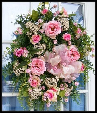 Luxury Mother's Day Wreath by Petal Pusher's Wreaths & Designs