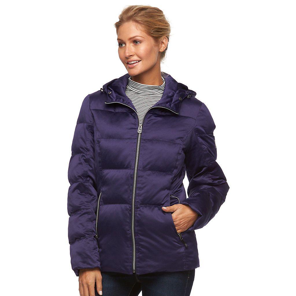 Women S Zeroxposur Powder Hooded Puffer Jacket Kohls Jackets Puffer Jackets Puffer Jacket Women [ 1024 x 1024 Pixel ]