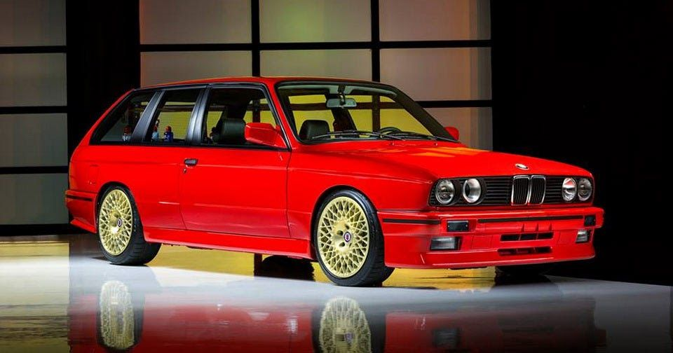 We Didn't Know We Wanted A Two-Door E30 M3 Wagon Until Now #BMW #BMW_M3