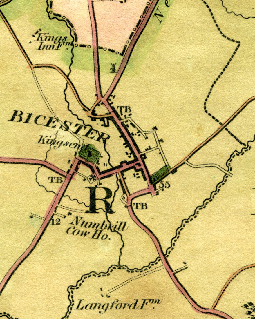Bicester Historic Map Bicester Pinterest England Uk - Historic maps england