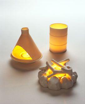 Nice David Weeksu0027 Ceramic Candle Holder Tea Light Set (Ulterior Votives)