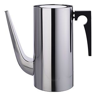 cylinda line coffee pot       designer:  Arne Jacobsen     design year:  1967     manufacturer:  Stelton, Denmark