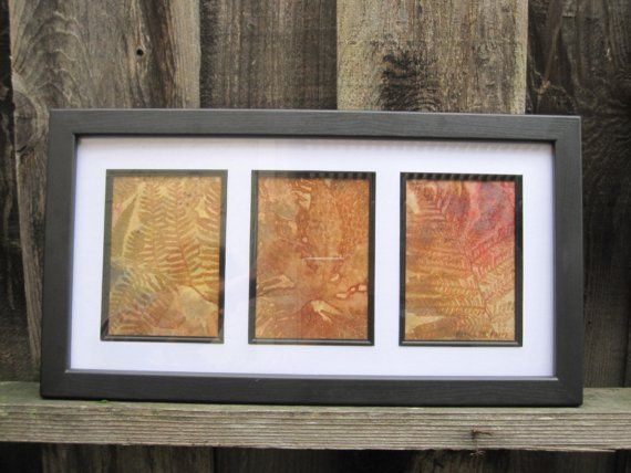 Two Ferns and Another by SoulfulArt on Etsy