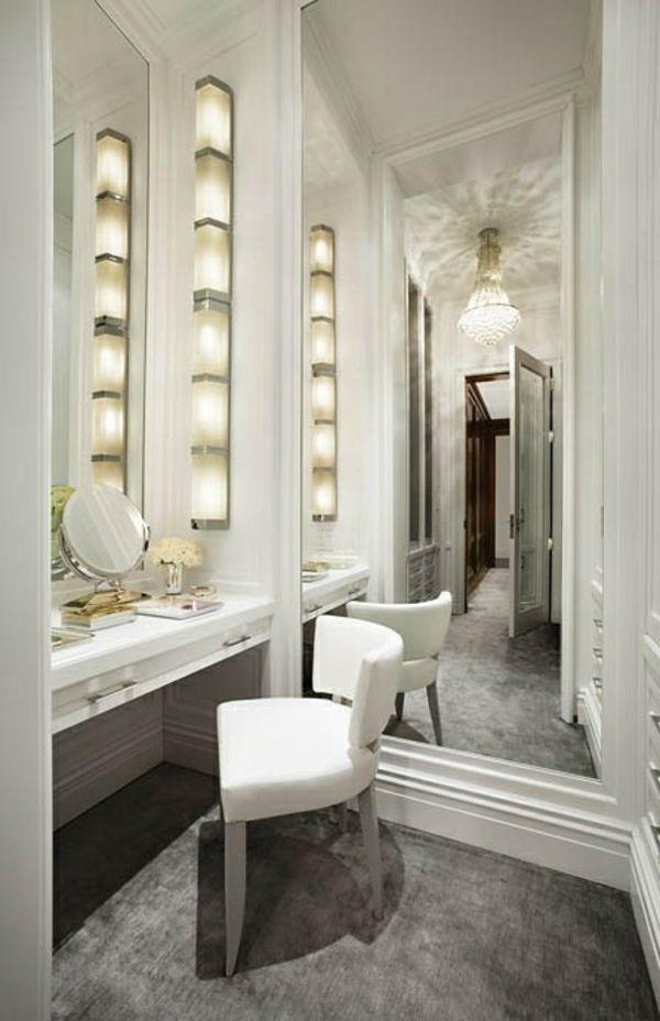 Spiegel mit beleuchtung für schminktisch  Ankleidezimmer Möbel - das Streben nach Vollkommenheit ...