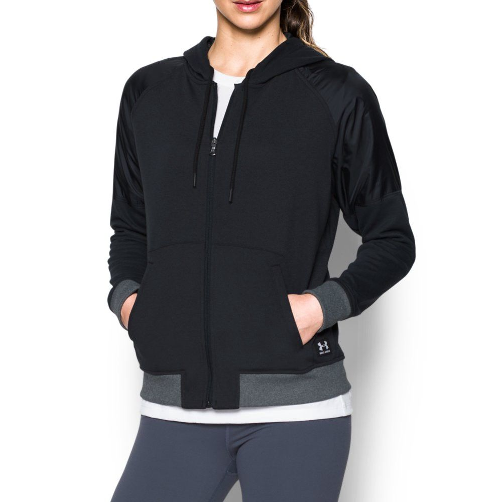 2fba2b602962 UNDER ARMOUR UA Favorite French Terry Warm Up Hoodie.  underarmour  cloth