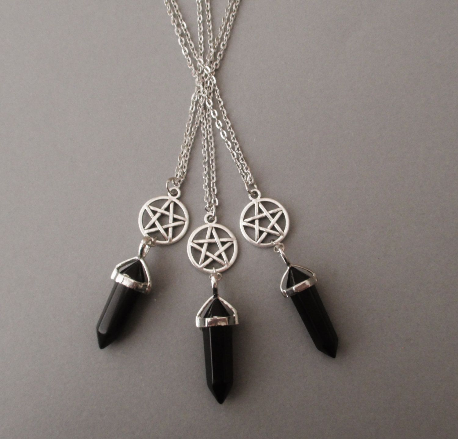 i elena goth pin gonzales necklace luz pinterest
