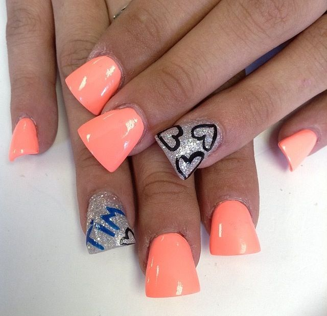 Boyfriends name | Nails | Pinterest | Boyfriends