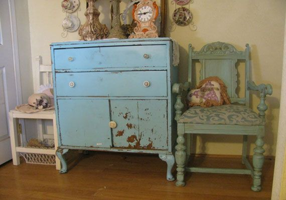 Shabby Chic Colors For Furniture : Diy shabby chic bedroom furniture muebles shabby chic