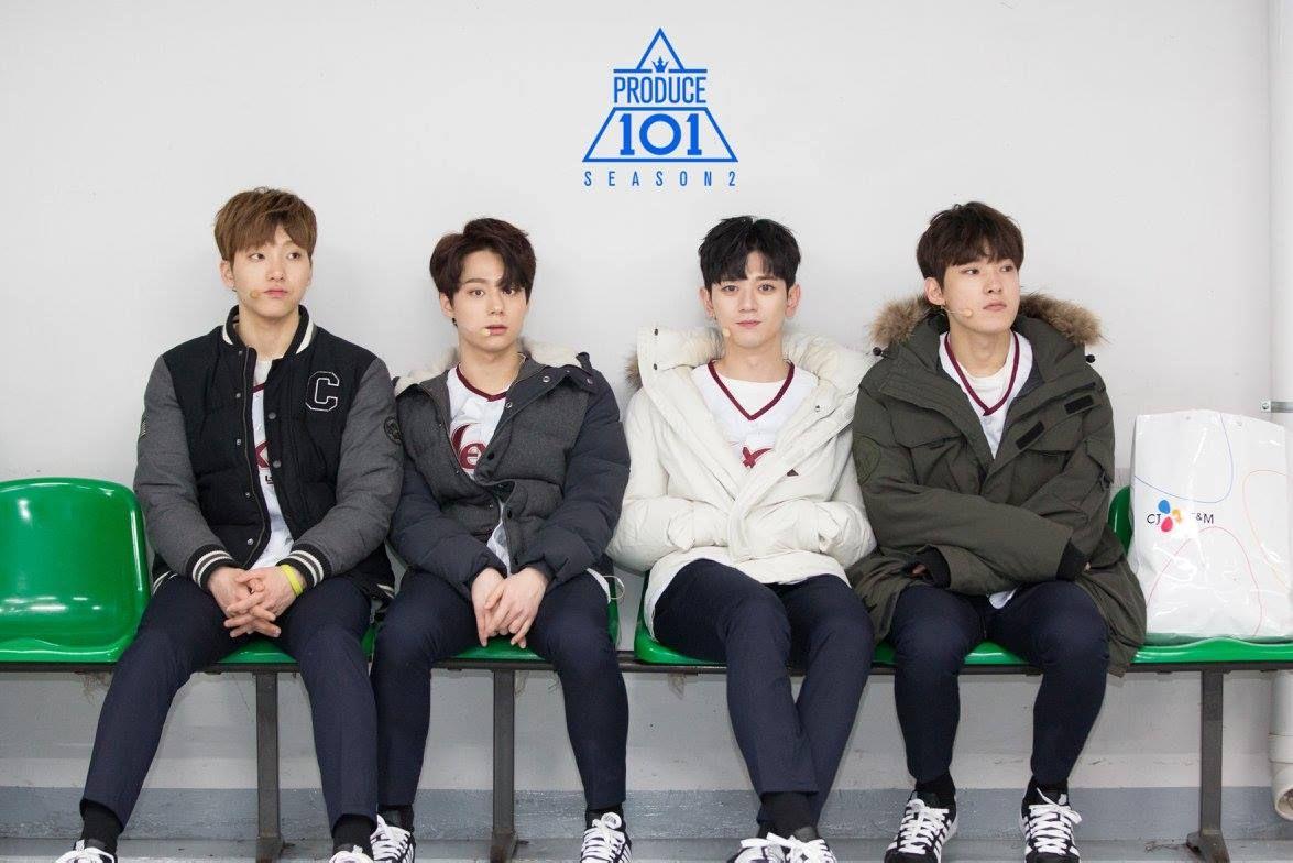Lee Gunmin (이건민), Yeo Hwanung (여환웅), Kim Chanyul aka Yul of JJCC (김찬율) and Choi Hadon aka San Cheong of JJCC (최하돈)