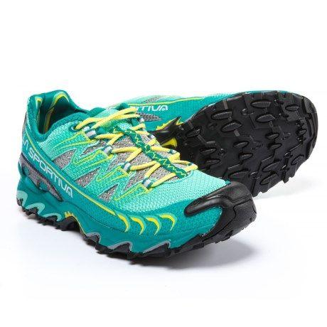 97ac3f2ee12 La Sportiva Ultra Raptor Trail Running Shoes (For Women) in Emerald Mint