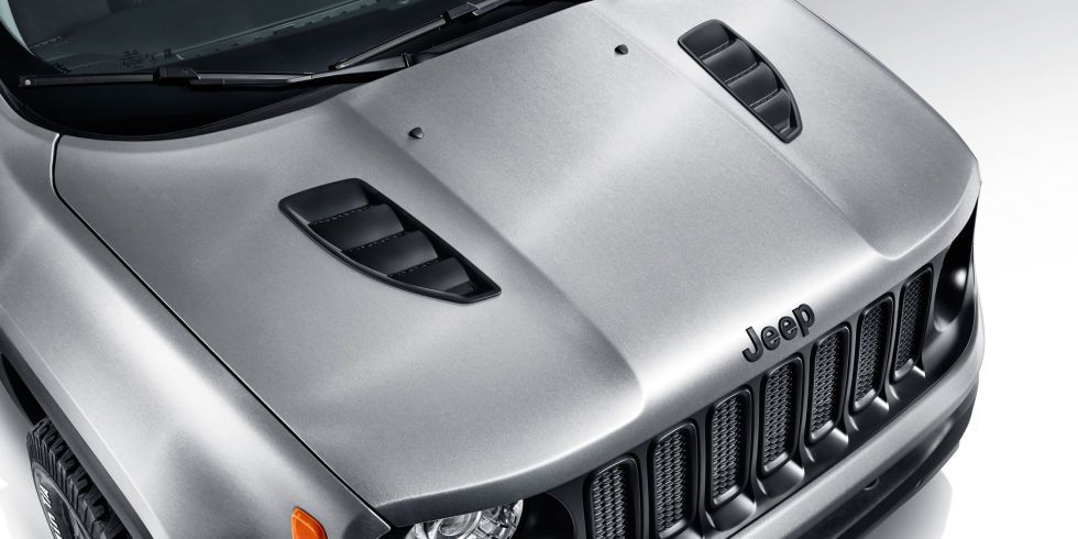 Jeep Renegade Hard Steel concept: Cool color, tiny trailer