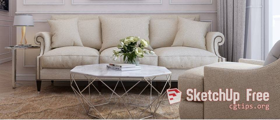 1459 Sofa Sketchup Model Free Download | Sketchup Free