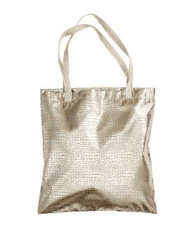 Fabric Bag With A Shimmering Printed Snakeskin Pattern H M Home