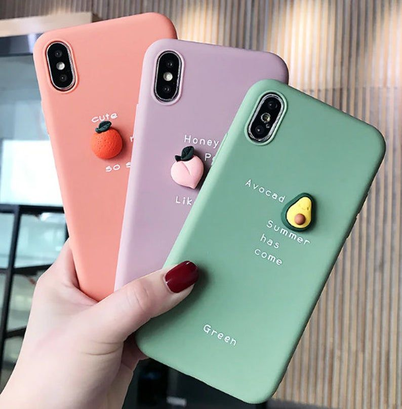 Cute 3d pattern iphone case for iphone 11 pro xs max xr x