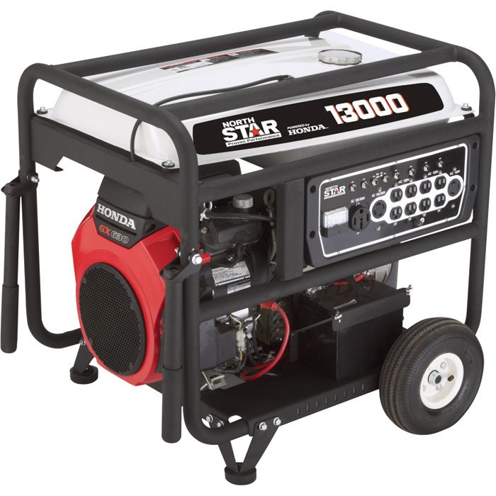 Northstar Portable Generator 13 000 Surge Watts 10 500 Rated Watts Electric Start Carb Compliant Portable Generator Generation Generators For Sale