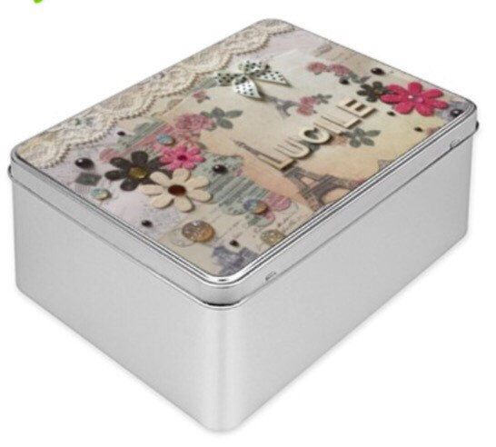 A personal favourite from my Etsy shop https://www.etsy.com/listing/226108650/personalised-treasure-gift-tin-box-with
