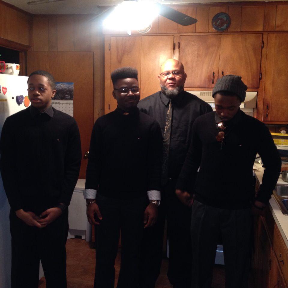 My favorite men!!