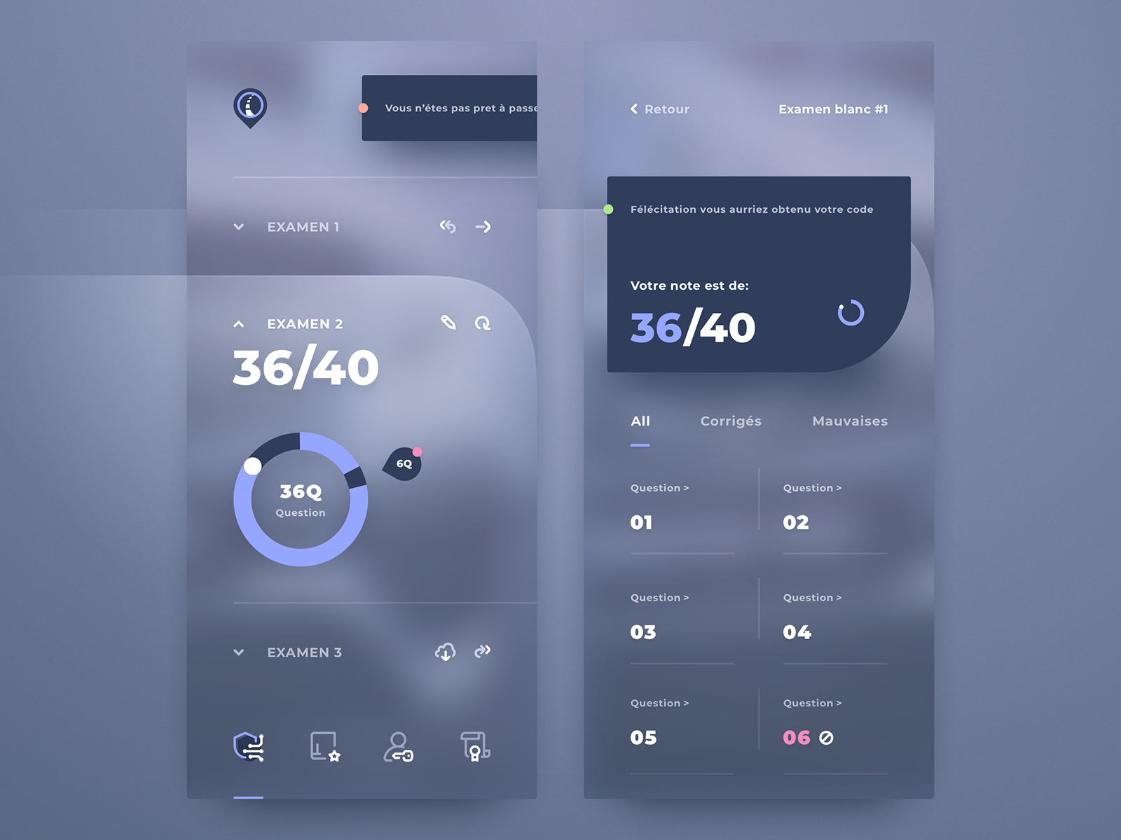 Mobile UI - Crypto wallet #interfacedesign