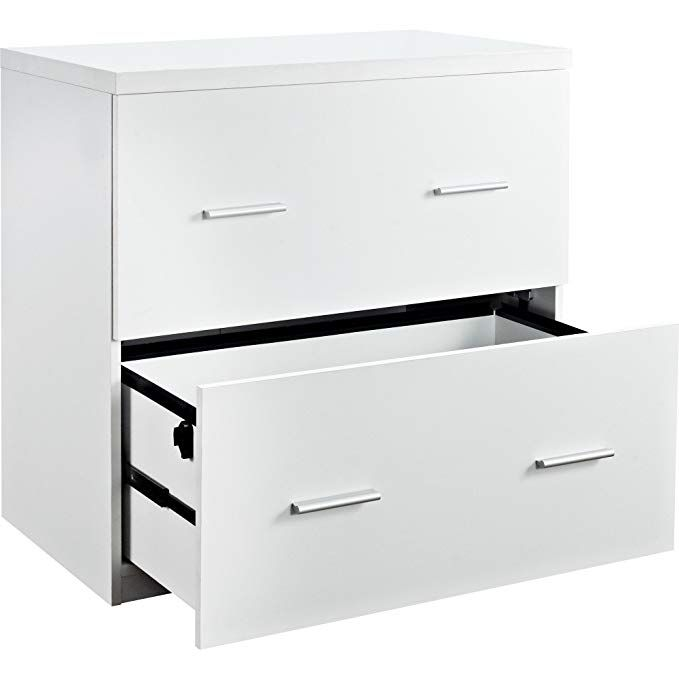 Contemporary Wood White Lateral File Crisp Clean Design Review