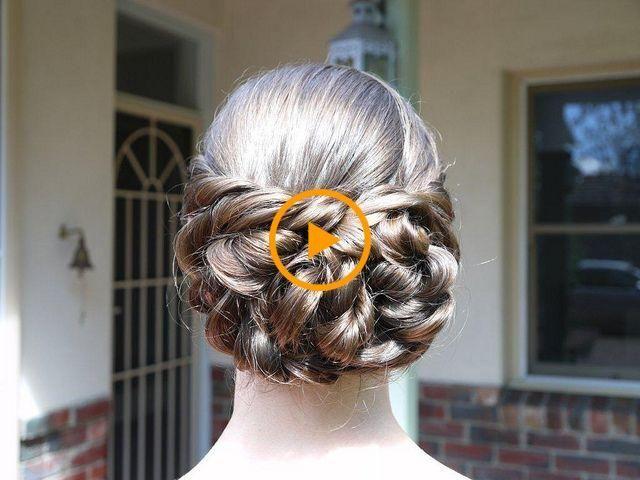Peinados De Graduación Para Cabello Largo  – Peinados