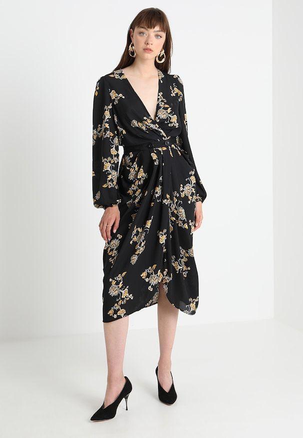 cc3c5b21d6 YASMARILLA DRESS - Długa sukienka - black in 2019