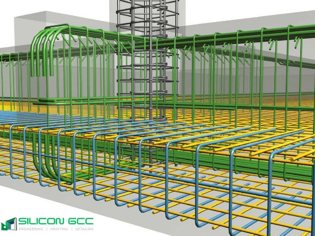 Rebar Detailing Services Dubai Uae Building Foundation Concrete Design Rebar Detailing