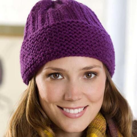 Easy Cuffed Hat Free Download