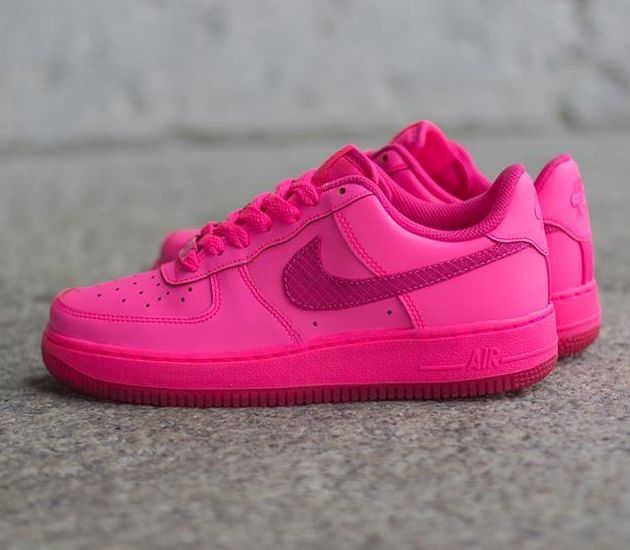 Nike Air Force 1 Low GS Hyper Pink Vivid Pink | oooo l a