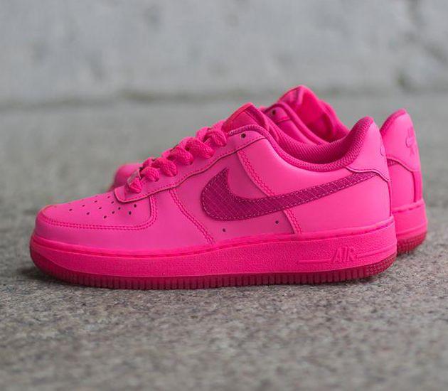 Nike Air Force 1 GS Hyper Pink Vivid Pink