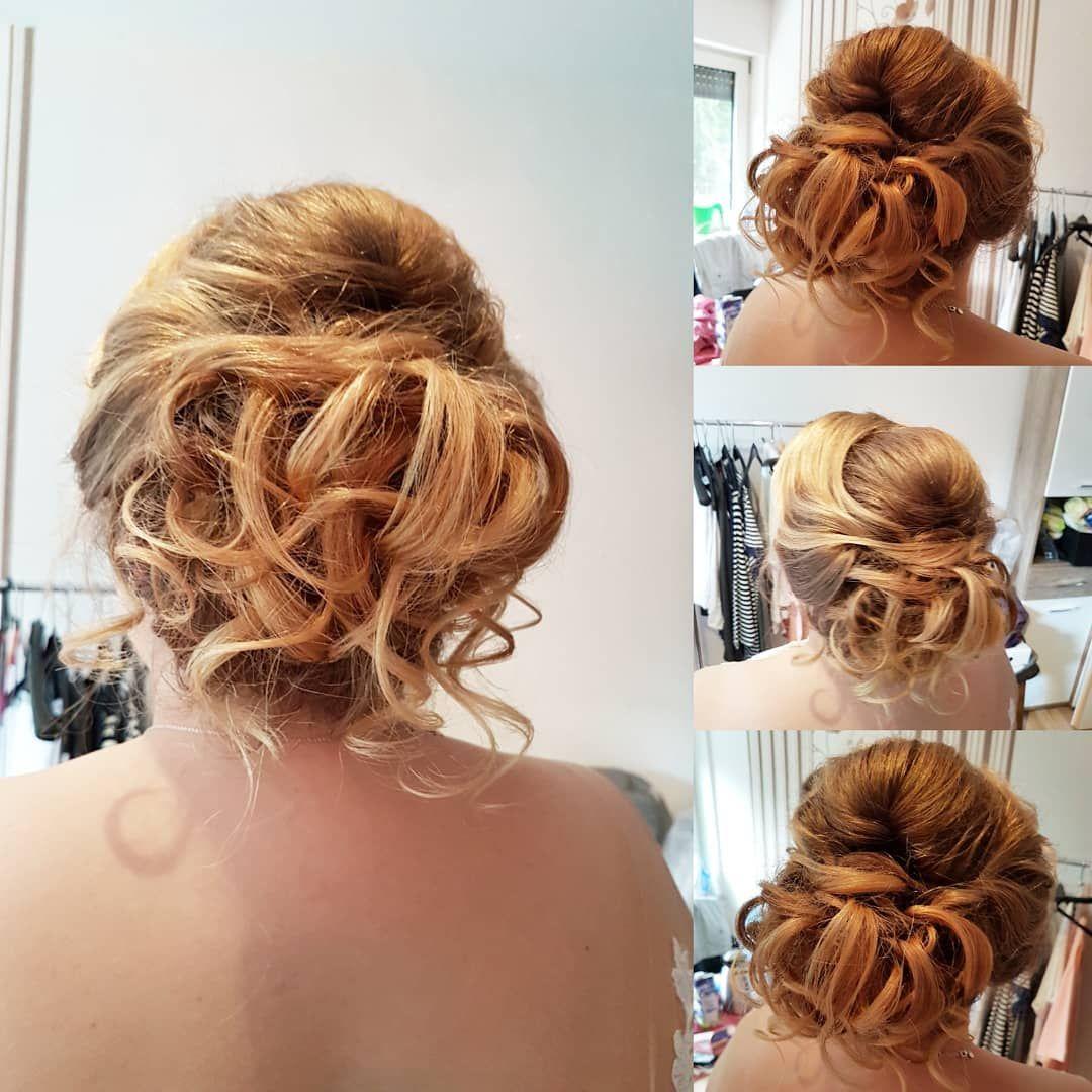 Brautstyling Braut Frisur Hochsteckfrisur Locken Wellen Braut2019 Brautfrisur Hochzeitsfrisur Maccosmetics Styling Hairstyle Bridal Hair Hair Styles
