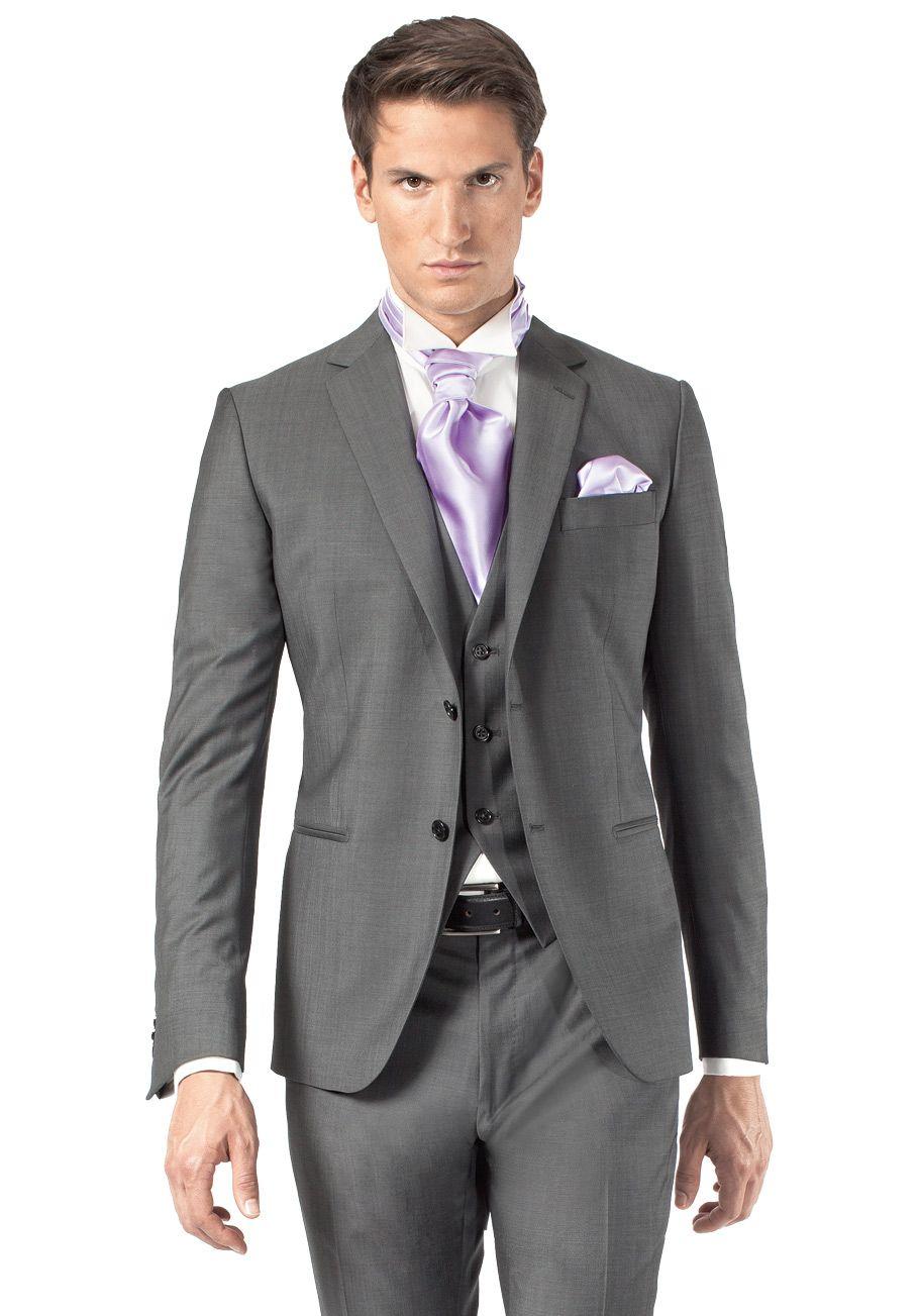 costume de mariage 3 pices gris fonc trouvable en boutique jean de sey paris - Costume Homme 3 Pieces Mariage