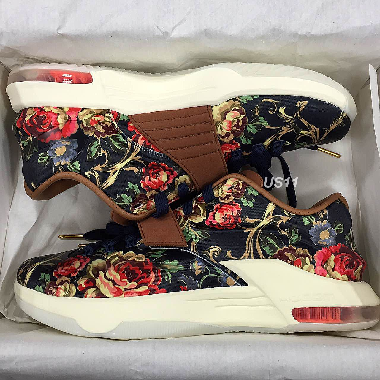 "reputable site 368e0 6d470 Nike KD VII EXT ""Floral"" (New Preview Pictures)"