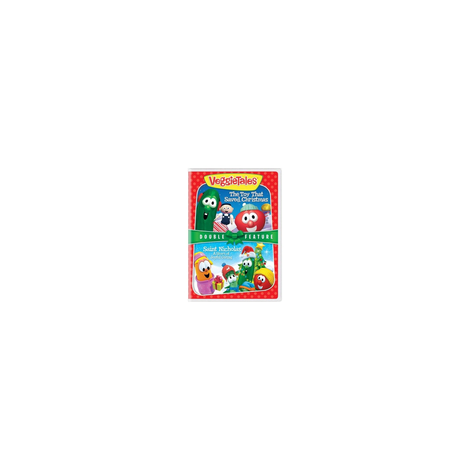 Veggie Tales The Toy That Saved Christmas St Nicholas Dvd Veggietales Veggie Tales Holiday Toys