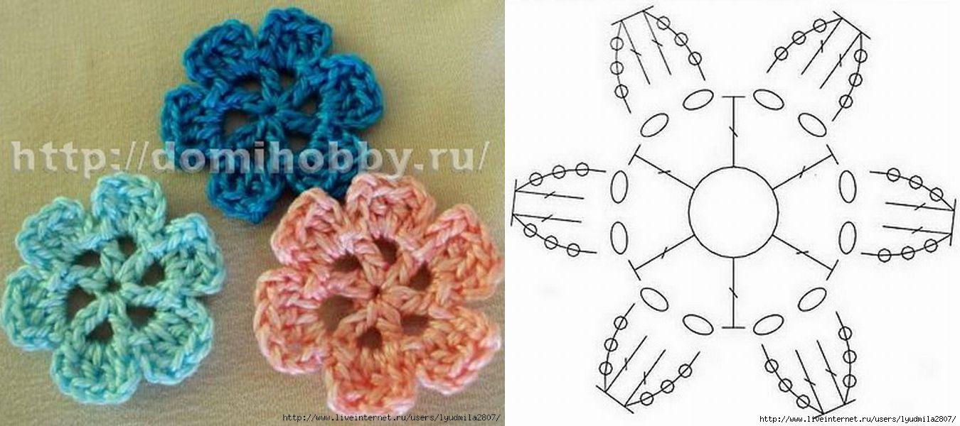 Crochet flower flowers pinterest crochet flowers crochet and crochet flower ccuart Gallery