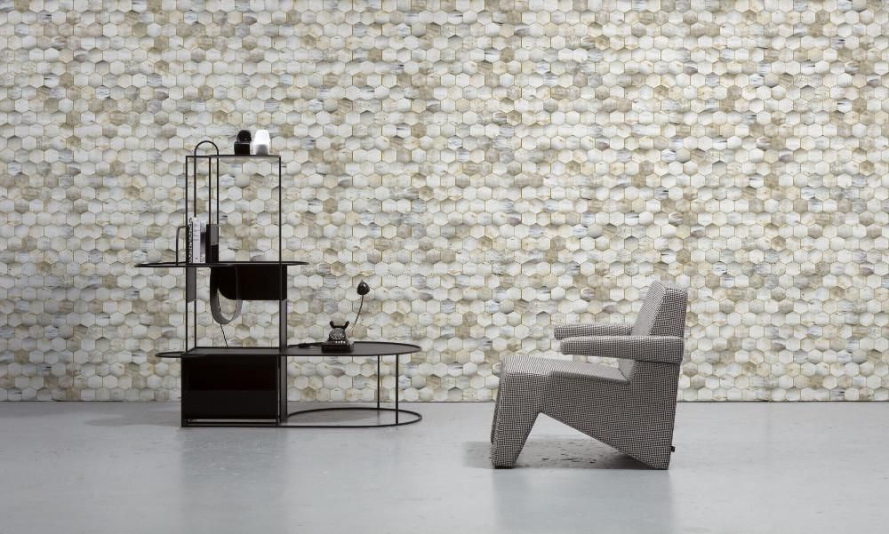 Beehive Wallpaper By Mr Mrs Vintage For Nlxl Monochrome Collection