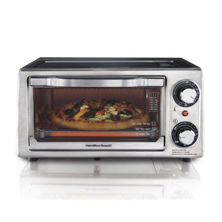 Hamilton Beach 4 Slice Toaster Oven Model Hmb2034 Silver