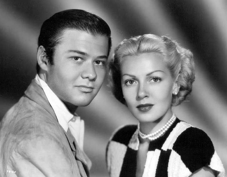 Turhan Bey and Lana Turner at the time of their romance 1945   Lana turner, Ziegfeld girls, Hollywood