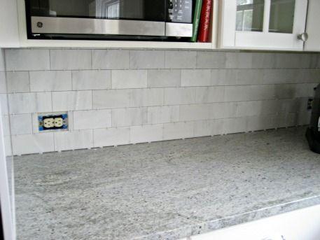 how to install carrara marble backsplash - How To Install Carrara Marble Backsplash New House Pinterest
