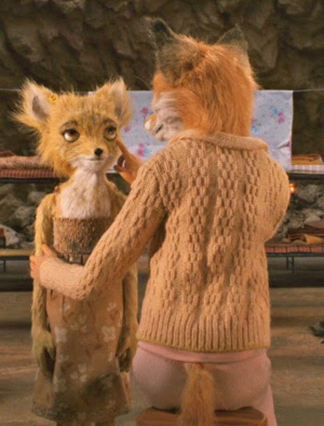 Agnes And Mrs Fox Fantastic Mr Fox Mr Fox Fox Sweater