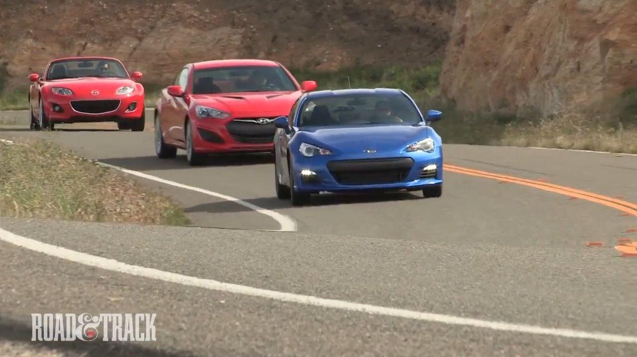 Yrys Automotive Blog Subaru BRZ vs Hyundai Genesis vs Mazda MX5