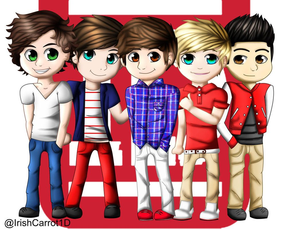One Direction Detail: Image Detail For -one Direction Cartoon